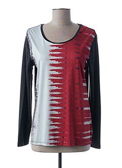 T-shirt manches longues gris GUY DUBOUIS pour femme