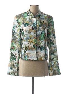 Veste chic / Blazer vert DANIELA COOL pour femme