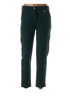 Pantalon 7/8 vert LE PETIT BAIGNEUR pour femme