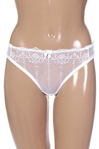 String/Tanga blanc CURVY KATE pour femme