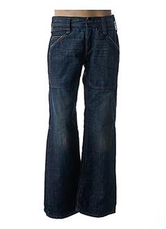 Jeans boyfriend bleu FREEMAN T.PORTER pour homme