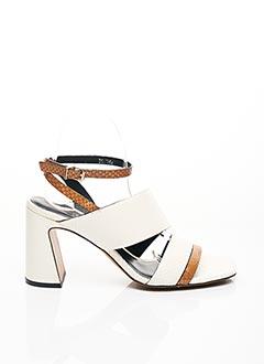 Sandales/Nu pieds blanc BRUNO PREMI pour femme