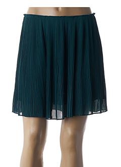 Jupe courte vert SAMSOE & SAMSOE pour femme