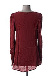 Blouse manches longues rouge HIGH pour femme seconde vue