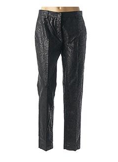 Pantalon chic noir 8PM pour femme
