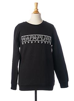 Sweat-shirt noir NAPAPIJRI pour fille