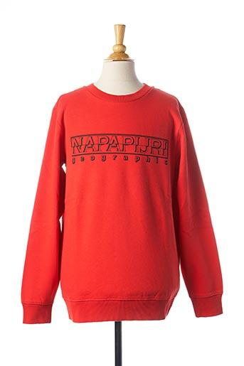 Sweat-shirt rouge NAPAPIJRI pour fille
