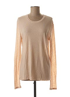 T-shirt manches longues beige WEEKEND MAXMARA pour femme