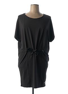 Robe mi-longue noir LE PETIT BAIGNEUR pour femme