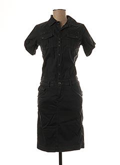Robe mi-longue noir G STAR pour femme