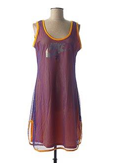 Robe mi-longue violet NIKE pour femme