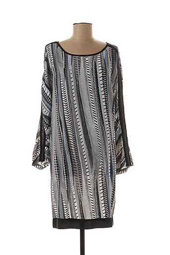 Robe courte gris CIMINY pour femme
