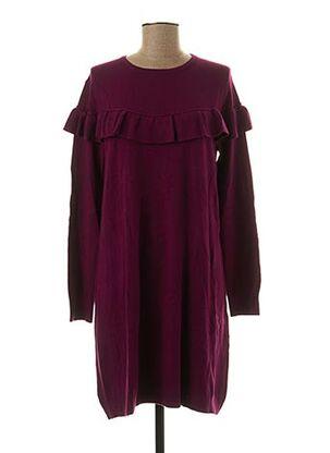Robe pull violet BEAUTY WOMEN pour femme