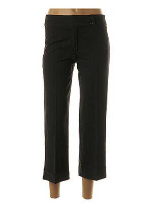 Pantalon 7/8 noir ARC EN CIEL pour femme