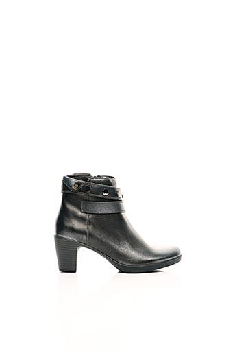 Bottines/Boots gris FUGITIVE BY FRANCESCO ROSSI pour femme