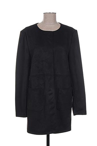 Manteau long noir MERI & ESCA pour femme