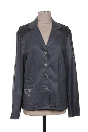 Veste chic / Blazer gris MERI & ESCA pour femme