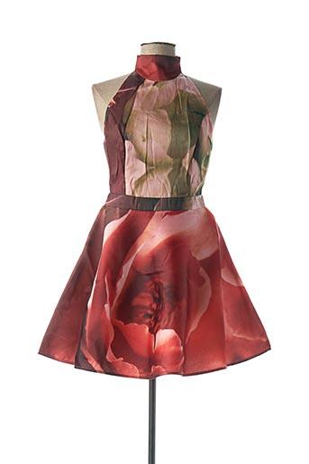 Robe courte rose ISABEL GARCIA pour femme