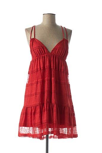 Robe courte rouge ETXART&PANNO pour femme