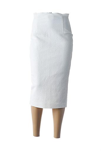Jupe mi-longue blanc ETXART&PANNO pour femme