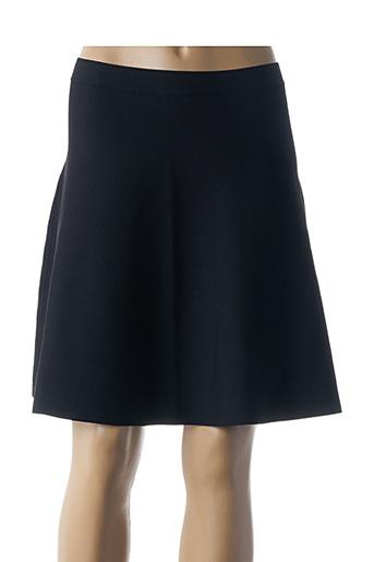 Jupe mi-longue noir ETXART&PANNO pour femme