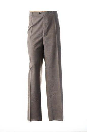 Pantalon chic beige FRANCOIS DEGASNES pour homme