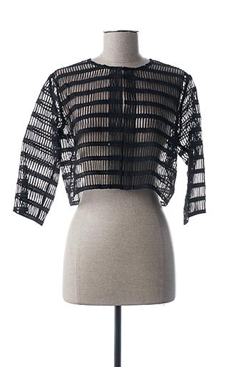 Veste casual noir ETXART&PANNO pour femme