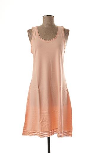 Jupon /Fond de robe orange JET pour femme