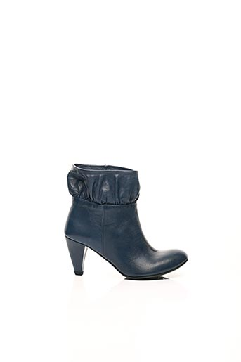 Bottines/Boots bleu IPPON STYL pour femme