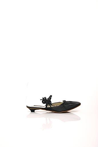 Mules/Sabots noir CARLA pour femme