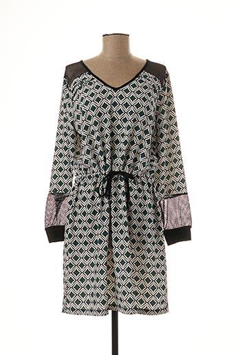 Robe courte vert MALOKA pour femme