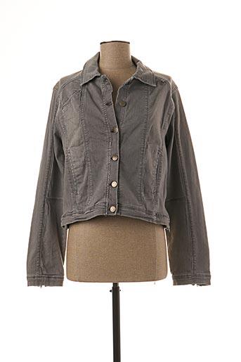 Veste en jean gris MADO ET LES AUTRES pour femme
