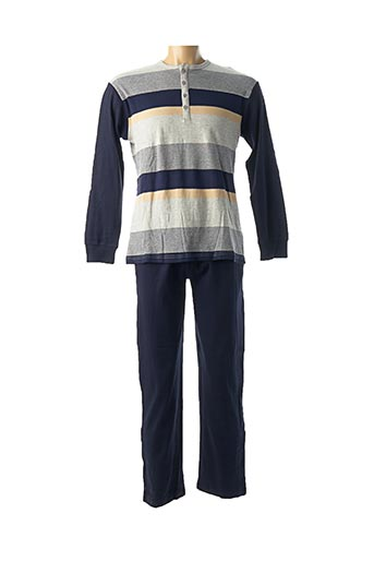 Pyjama bleu FEEL FREE BY PROMISE pour homme