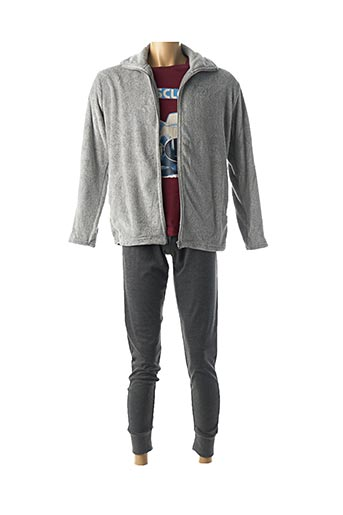 Pyjama gris FEEL FREE BY PROMISE pour homme