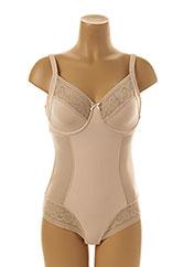 Body lingerie chair PROMISE pour femme seconde vue