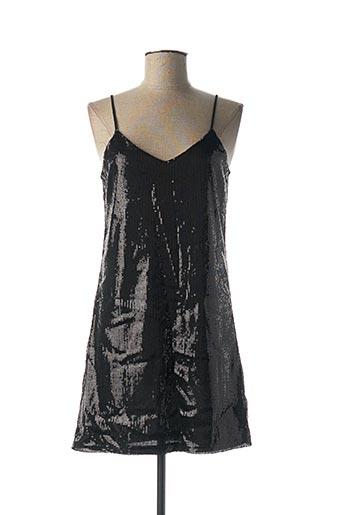 Robe courte noir J S MILLENIUM pour femme