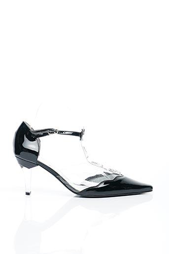 Sandales/Nu pieds noir AZUREE pour femme