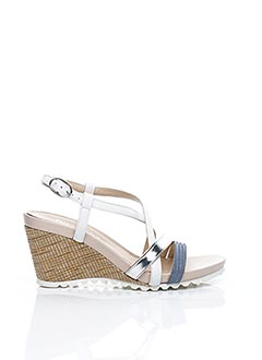 Sandales/Nu pieds bleu AMARU pour femme