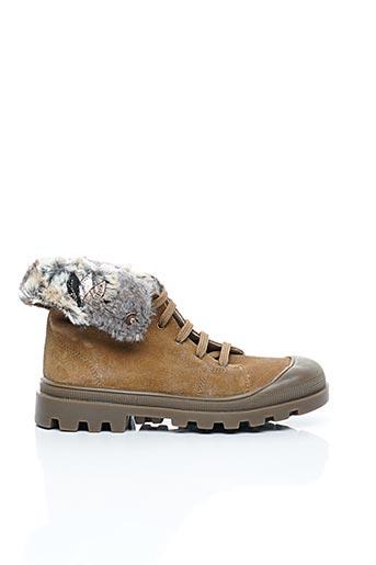 Bottines/Boots beige CATIMINI pour fille