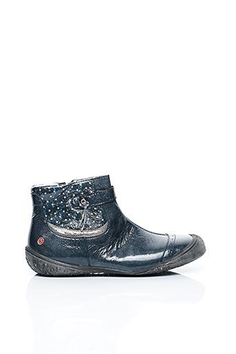 Bottines/Boots bleu GBB pour fille