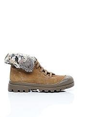 Bottines/Boots beige CATIMINI pour fille seconde vue