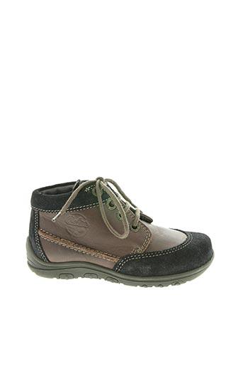 Bottines/Boots marron ASTER pour garçon