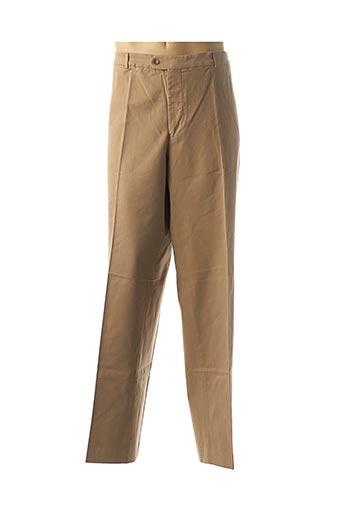 Pantalon chic marron KLOTZ pour homme
