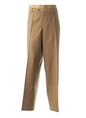 Pantalon chic marron KLOTZ pour homme seconde vue