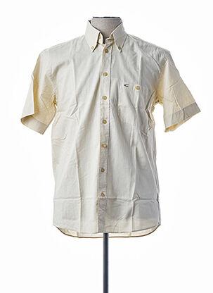Chemise manches courtes beige CAMEL ACTIVE pour homme