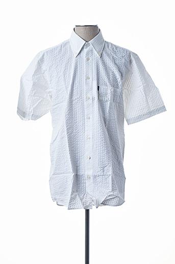 Chemise manches courtes blanc DORNBUSCH pour homme