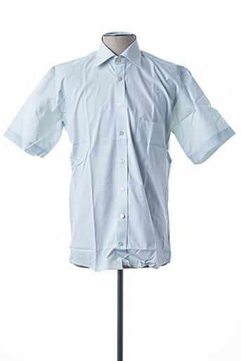 Chemise manches courtes vert DIGEL pour homme