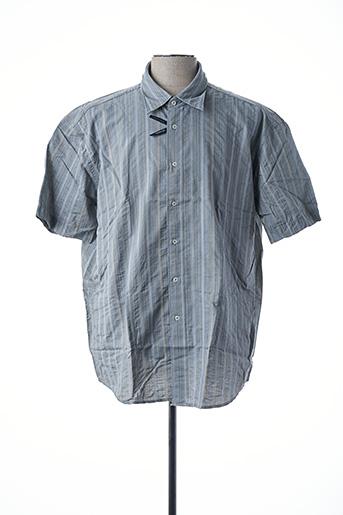 Chemise manches courtes vert DANIEL HECHTER pour homme