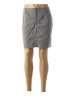 Jupe courte gris COUTURIST pour femme