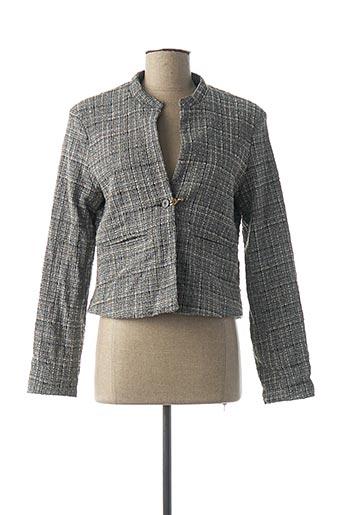 Veste chic / Blazer gris DENIM &DRESS pour femme